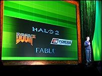 Microsoft presentation at E3 (Image: Jon Jordan)