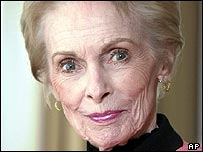 Janet Leigh pictured in 2003