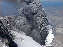 Mount St Helens 1 October 2004 (CVO)