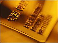 Generic credit card image