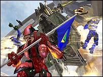 Screenshot from Halo 2