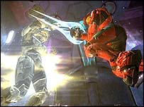 Screenshot from Halo 2