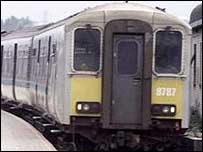 Train services were cancelled following the incident