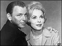Frank Sinatra and Janet Leigh in The Manchurian Candidate