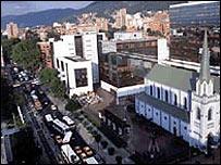 Vista de Bogotá-Gentileza Alcaldía de Bogotá