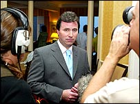 Shadow chancellor Oliver Letwin