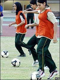 Bangladeshi soccer players