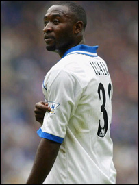 The DR Congo and Portsmouth's Lomana LuaLua