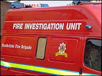 Fire investigation unit