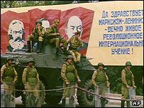 Солдаты СССР в Карабахе