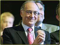 Conservative Party Leader Michael Howard at the Conservative Party annual conference in Bournemouth, England