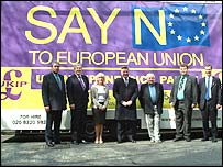 UKIP's poster launch
