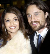 Bride and Prejudice stars Aishwarya Rai and Martin Henderson