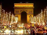 Champs-Elysees, Paris, France