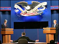 Presidential debate in the US