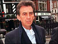 George Harrison pictured in 1998
