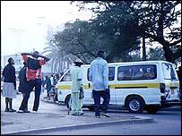 Nairobi street scene