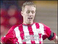 Southampton striker Brett Ormerod is on loan at Leeds