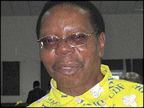 Ruling party candidate, Dr Bingu Wa Mutharika
