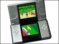 Nintendo DS handheld