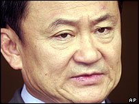 Thai Prime Minister Thaksin Shinawatra, Bangkok House, 12 May