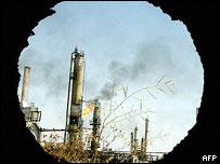 Refinería petrolera en Irak