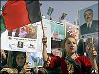 Dostum rally in Mazar