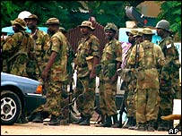 Kano soldiers