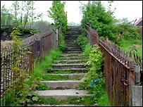 Cwm Road steps