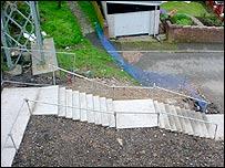 Curre Street steps