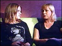 Paula and her mother Inger