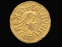 Ancient gold penny (Spink auction house)