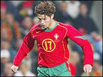 Portugal's Christiano Ronaldo