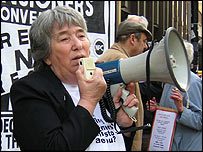 Dot Gibson of the National Pensioners Convention