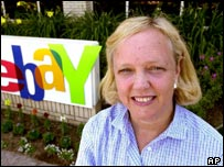 eBay chief executive Meg Whitman