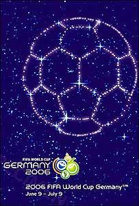 Afiche oficial del Mundial de Fútbol Alemania 2006