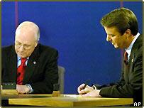 Dick Cheney and John Edwards