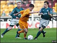 Keith Lasley is under pressure from Liam Miller and Neil Lennon