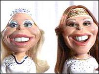 Abba puppets
