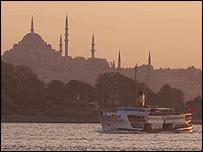 View of Istanbul/Bosphorus
