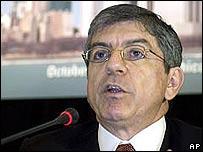 César Gaviria, secretario general de la OEA