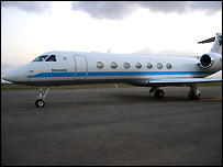 Tanzania's new presidential jet
