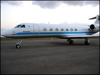 Tanzania's new presidential jet