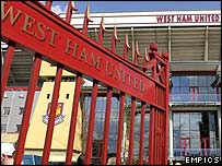 West Ham's current home Upton Park