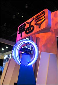 EyeToy stand at E3  (Photo: Jon Jordan)
