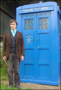 Jake Theunissen and his tardis