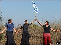 Israeli settlement activists