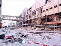 Manchester bomb in 1996
