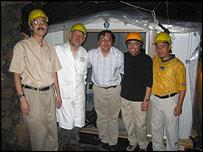 The underground tent