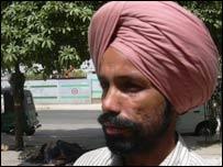 BJP supporter Iknam Singh